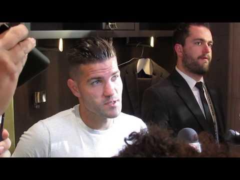Free Kick: Atlanta United Greg Garza post-New York City FC presser 4.15.18 #sportsinquirer