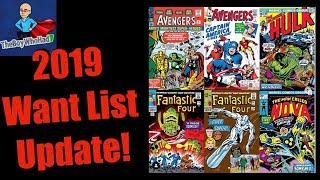 2019 Marvel Want List Update!!