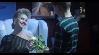 Кристина Асмус на презентации фильма
