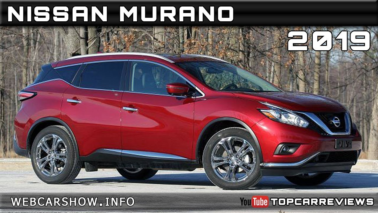 2019 Nissan Murano Review Rendered Price Specs Release Date