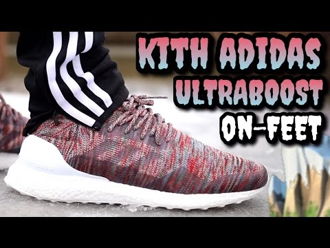 222f89a5c7b51 HEAT OR ALL HYPE!  Kith x Adidas Ultraboost Mid On-Feet Review - YouTube