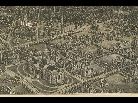 Denver Colorado History and Cartography (1887)
