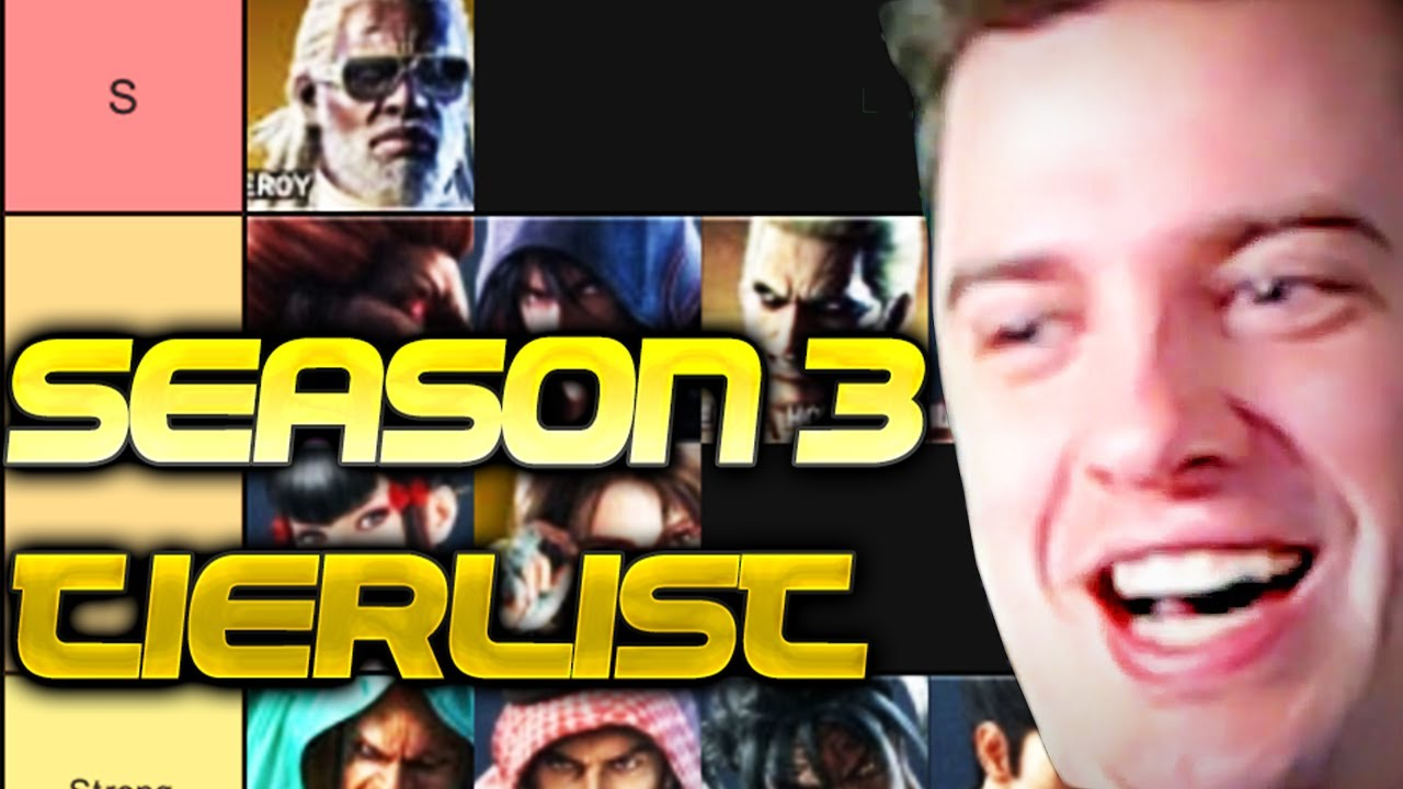 Tekken 7 Season 3 Tierlist Youtube