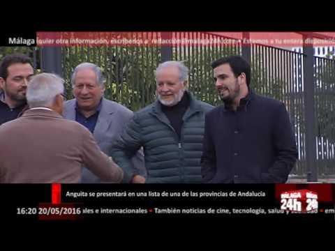 Málaga 24h TV - Anguita se presentará en una lista de una de las provincias de Andalucía
