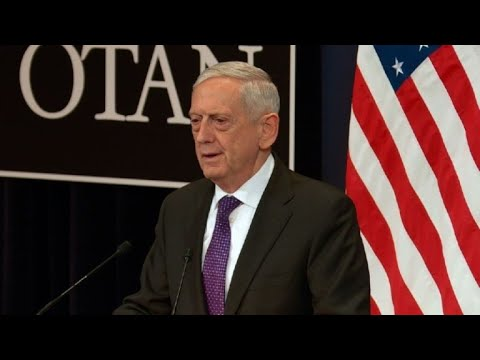 EU agrees common defence is NATO 'mission alone': Mattis