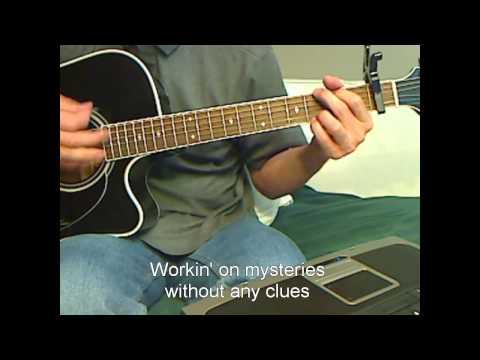 Bob Seger - Night Moves - Acoustic Guitar Lesson