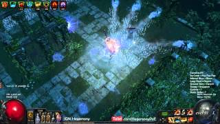 Path of Exile Act 4: 2H RT Sweep HL Map Gameplay!