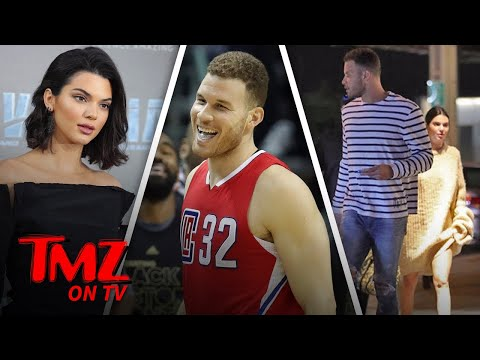 Kendall Jenner and Blake Griffin Do Dinnner and A Movie | TMZ TV
