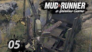 Spintires MudRunner | KRANFAHRER? Ohje… ► #5 Off-Road Simulator deutsch german