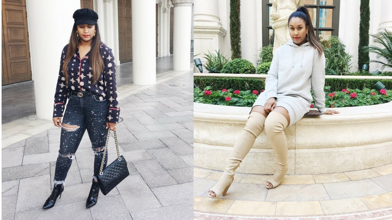 Winter Outfit Ideas for Las Vegas  #travelinstyle