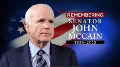 John McCain remembered   Obama, Bush give eulogies at Washington funeral