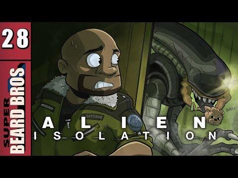Alien Isolation | Let's Play Ep. 28 | Super Beard Bros.