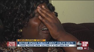 MOTHER OF LITTLE BOY KILLED IN HIT AND RUN PLEADS FOR DRIVER TO COME FORWARD