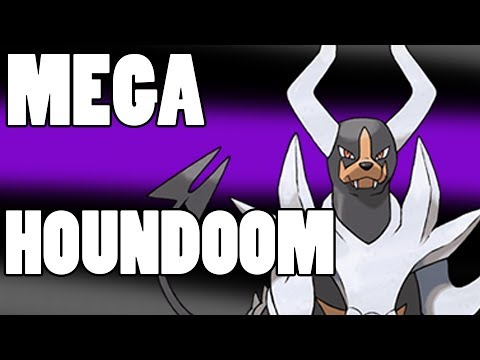 Pokemon X & Y Strategy - Mega Houndoom Strategy Guide!