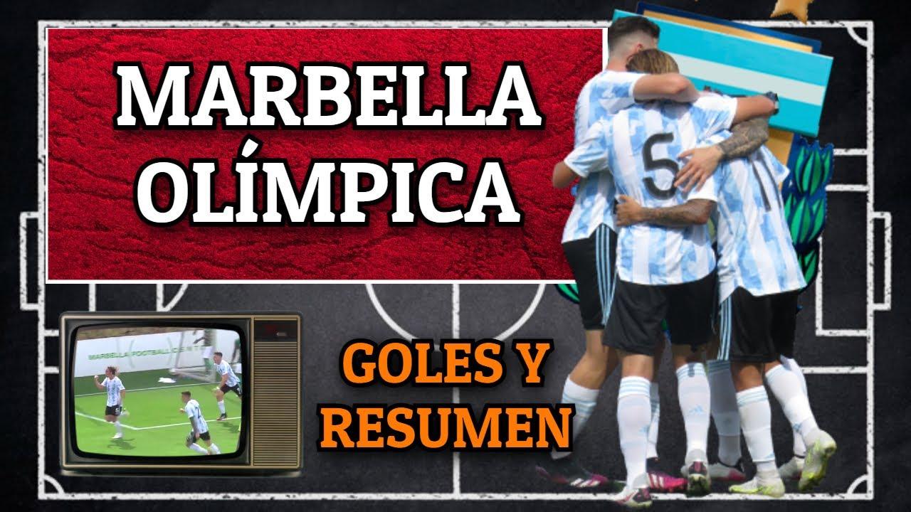 SELECCIÓN ARGENTINA SUB23 2 - ARABIA SAUDITA 0 🇦🇷🇸🇦 GOLES Y RESUMEN | TOKIO 2020 | Bruno González