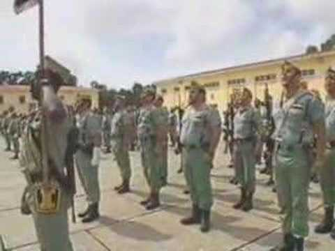 BANDERA DE LA LEGION HIMNO - YouTube