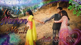 Download lagu Cute Love Story Teri nazron ne kuch aisa jadoo kiya Heart Touching Love Story Sad Love Story