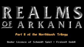 Realms of Arkania 2 - Star Trail gameplay (PC Game, 1994)