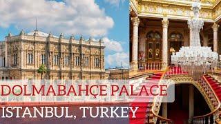 Dolmabahçe Palace 2020,Beautiful Palace in Istanbul Turkey 🇹🇷