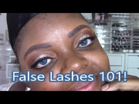 False Lashes 101: How I Select, Apply, and Remove Them!!!