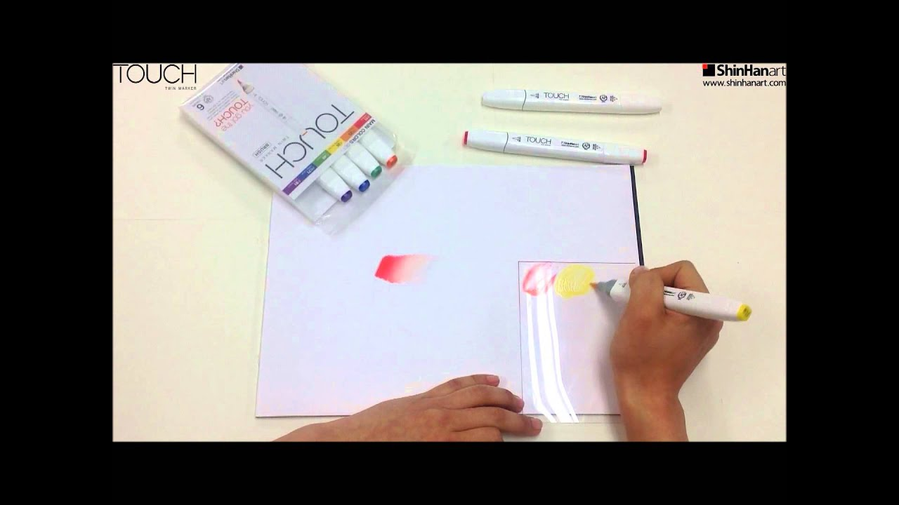 how to clean colorless blender marker