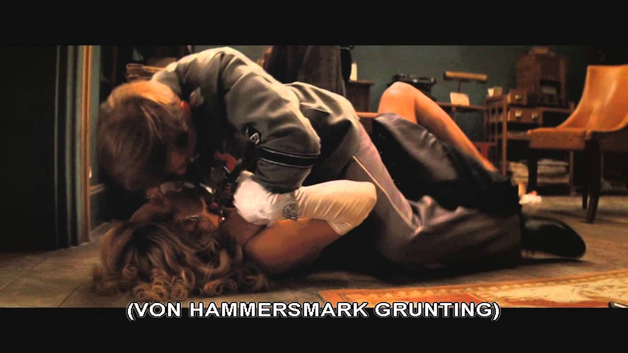 inglourious basterds - strangle scene - youtube