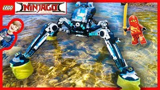 Lego Ningago Movie Water Strider Really Floats!