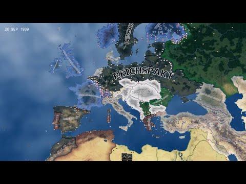 Zweiter Weltkrieg Kaiserreich - HOI4 Timelapse |
