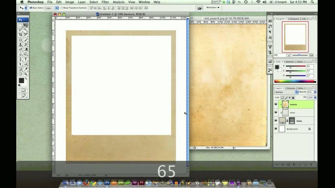 29 awesome Lomography and Polaroid Photoshop tutorials ... |Old Polaroid Photoshop