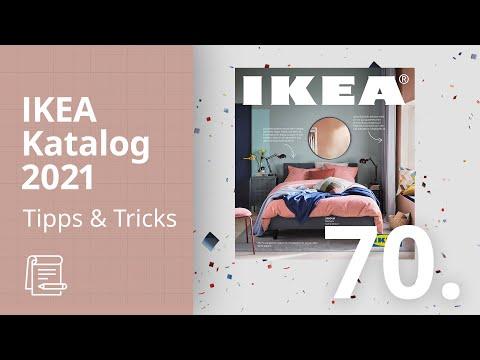 Video: Der IKEA Katalog 2021: Die 70. Ausgabe des IKEA Katalogs ist da!   IKEA Tipps & Tricks