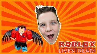 Come play on this Roblox livestream!! 🔴 GamerBoyJJM!!