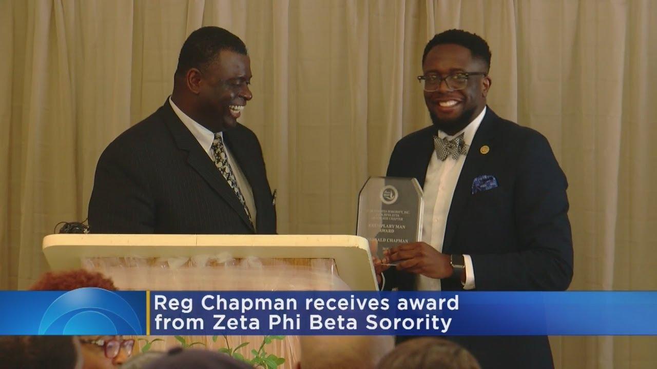 WCCO's Reg Chapman Receives 'Exemplary Man' Award