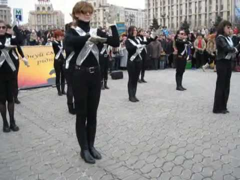 Michael Jackson Tribute - They Don't Care About Us in Kiev, Ukraine