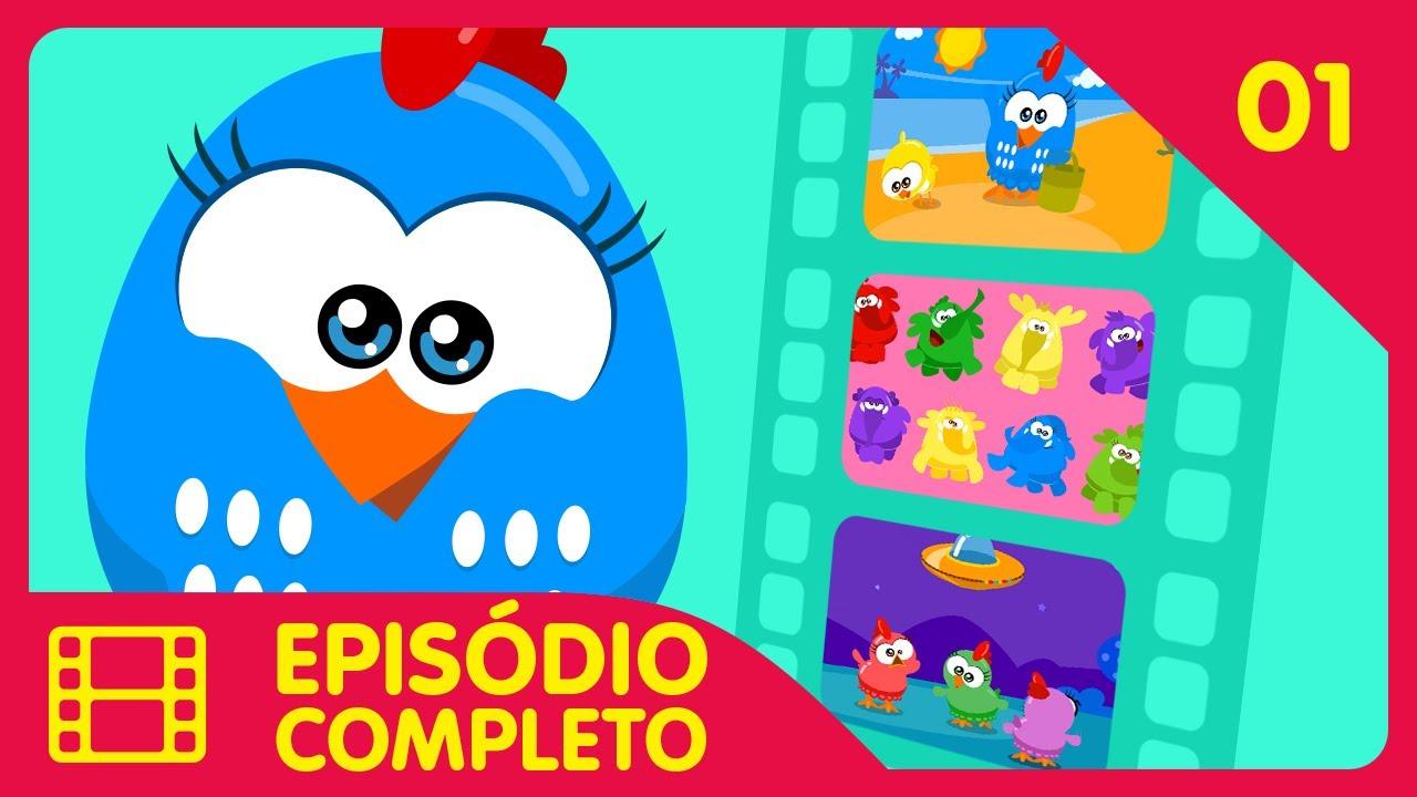Galinha Pintadinha Mini - Episódio 01 Completo - 12 min