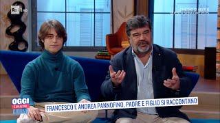 Https://www.raiplay.it/programmi/oggieunaltrogiorno - serena bortone intervista francesco pannofino che si racconta ed esibisce accanto a figlio andrea. in c...