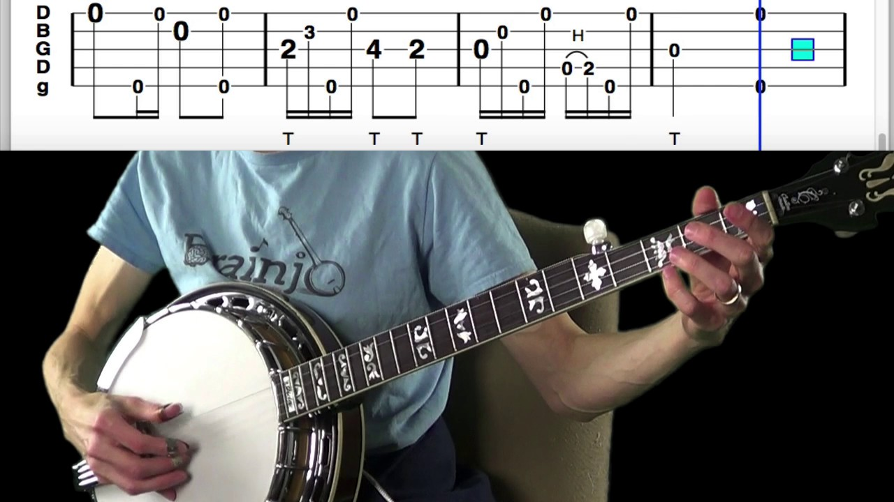 Fingerstyle Banjo by Brainjo – Learn how to fingerpick the banjo!