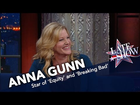 Anna Gunn wins an Emmy for Breaking Bad at the 2013 Primetime Emmy Awards! clip