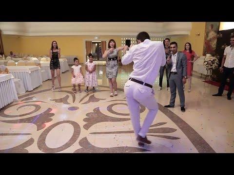 Танцевальный батл на свадьбе. Ржака. Таких движений ещё не видели, танец жениха - Видео приколы ржачные до слез