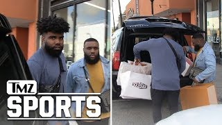 Ezekiel Elliott Drops Gs in Offseason Sneaker Shopping Spree | TMZ Sports