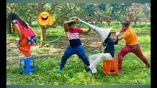 Top New Comedy Video 2019 | Try To Not Laugh | Episode-37 | By Fun ki vines