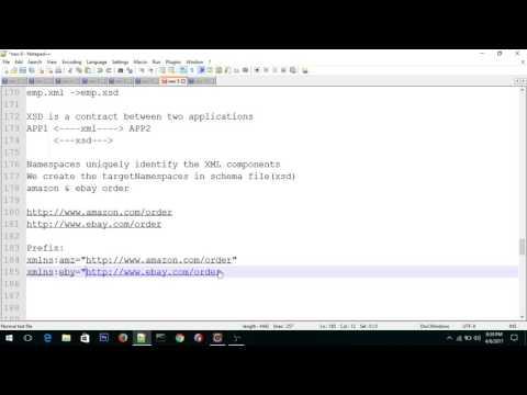 Schema XSD Basics