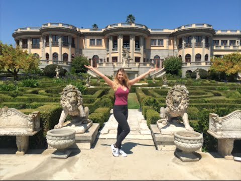 $50,000,000 Pasadena Princess Mansion!