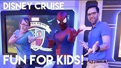 Disney Cruise Fun for Kids! Disney Wonder 2016