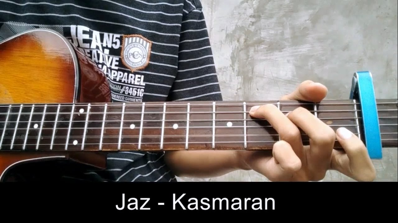Tutorial Gitar Jaz - Kasmaran | Tutorial Chord Mudah - YouTube