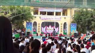 Múa dân vũ vòng 2 Trường THCS Phạm Hữu Lầu Tp Cao Lãnh