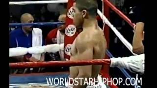Victor Ortiz Disqualified