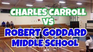 12/06/17 - Charles Carroll vs. Robert Goddard - Coach Dunbar - #1 Marvin Guthrie