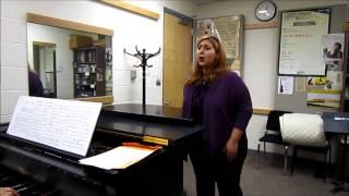 Fahimeh Mehrabkhani sings Bel Piacere by George Fredric Handel