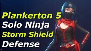 Fortnite #12 | Plankerton Storm Shield Defense 5 Ninja Solo