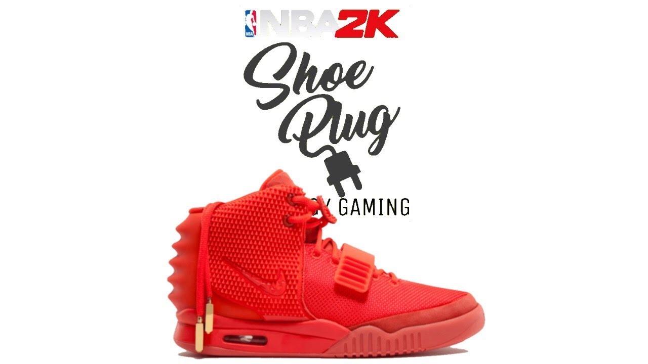 NBA 2K19 AIR YEEZY 2 RED OCTOBER